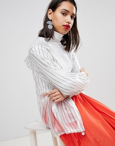 Дождевик Sportmax Code Never Too Late - Белый