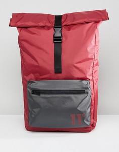 Бордовый рюкзак 11 Degrees Rolltop - Красный