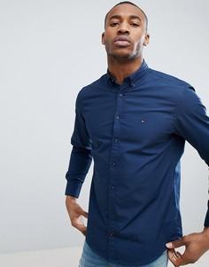 Рубашка из поплина Tommy Hilfiger - Темно-синий