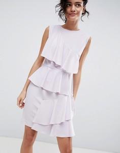 Платье с ярусными оборками 2NDDAY - Фиолетовый