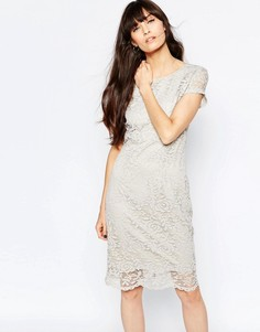 Кружевное платье-футляр Selected Charlotte - Черный