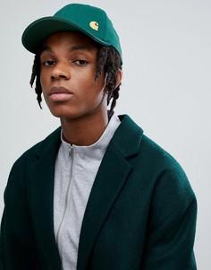 Зеленая кепка Carhartt WIP - Темно-синий