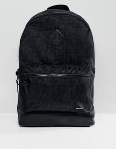 Черный выбеленный рюкзак ASOS - Черный