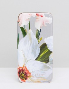 Зеркальный чехол для iPhone с цветами Ted Baker - Мульти