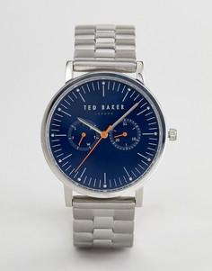Часы с хронографом Ted Baker TE50274007 Brit - 40 мм - Серебряный