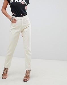 Прямые джинсы с высокой талией G-Star 3301 - Белый