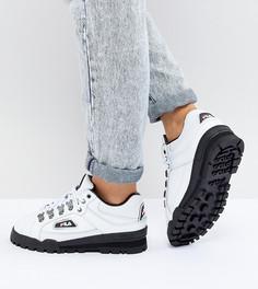 Белые кроссовки Fila Trail Blazer - Белый