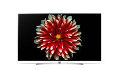 """LED телевизор LG OLED55B7V """"R"""", 55"""", Ultra HD 4K (2160p), белый/ белый"""