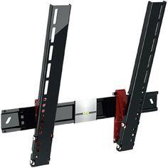"Кронштейн для телевизора Holder LCDS-5084 черный глянец 37""-55"" макс.35кг настенный наклон"