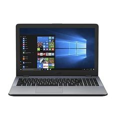 "Ноутбук ASUS VivoBook X542UN-DM167T, 15.6"", Intel Core i5 7200U 2.5ГГц, 8Гб, 1000Гб, nVidia GeForce Mx150 - 4096 Мб, DVD-RW, Windows 10, 90NB0G82-M02720, темно-серый"