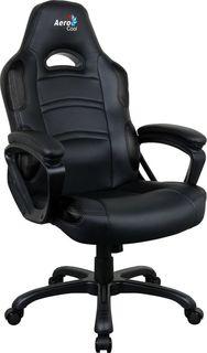 Кресло игровое AEROCOOL AC80C AIR-B, полиуретан [525107]