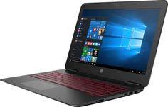 """Ноутбук HP Omen 15-ax233ur, 15.6"""", Intel Core i7 7700HQ 2.8ГГц, 8Гб, 1000Гб, nVidia GeForce GTX 1050 - 2048 Мб, Free DOS, 2ER12EA, черный"""