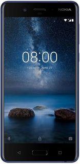 Смартфон NOKIA + Чехол, 8 Dual sim, синий матовый