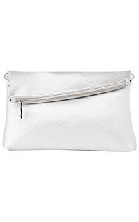 Белая сумка из экокожи La Reine Blanche