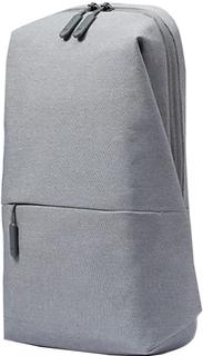 """Рюкзак Xiaomi Mi City Sling Bag для планшета 7"""" (светло-серый)"""