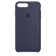 Аксессуар Чехол APPLE iPhone 8 Plus / 7 Plus Silicone Case Midnight Blue MQGY2ZM/A