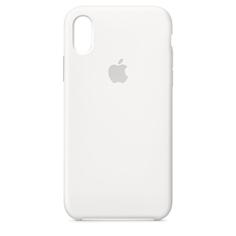 Аксессуар Чехол APPLE iPhone X Silicone Case White MQT22ZM/A