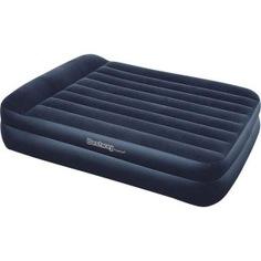 Надувная кровать с электронасосом bestway premium air bed with sidewinder 203х152х46 см 67345 bw