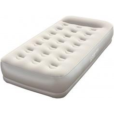 Надувная кровать со встроенным насосом bestway restaira premium airbed 191х97х38 см 67455 bw