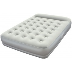 Надувная кровать со встроенным насосом bestway restaira premium airbed 203х152х38 см 67459 bw