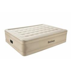 Надувная кровать со встроенным электронасосом bestway essence fortech 203х152х51см 69024 bw