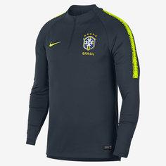 Мужская игровая футболка с длинным рукавом Brasil CBF Dri-FIT Squad Drill Nike