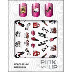 Наклейки для ногтей переводные `PINK UP` NAIL DESIGN тон 526