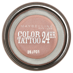 Тени для век `MAYBELLINE` COLOR TATTOO 24 HR кремообразные тон 65 (pink gold)
