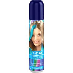 Спрей для волос оттеночный `VENITA` 1-DAY COLOR Ocean Blue (морская волна) 50 мл