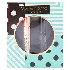 Набор подарочный женский `VIVIENNE SABO` (тушь для ресниц CABARET PREMIERE, гель для бровей и ресниц FIXATEUR)