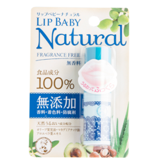 Бальзам для губ `MENTHOLATUM` LIP BABY NATURAL без запаха 4 г