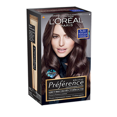 Краска для волос `LOREAL` `PREFERENCE` тон 5.21 (Нотр-дам) LOreal