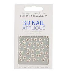 Наклейки для ногтей `GLOSSYBLOSSOM` REAL 3D TD-030