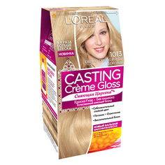 Крем-краска для волос `LOREAL` `CASTING` GLOSS тон 1013 (Светло-светло русый бежевый) LOreal