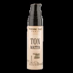 Крем тональный для лица `VIVIENNE SABO` TON MATTIN тон 103 матирующий