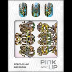 Наклейки для ногтей переводные `PINK UP` NAIL DESIGN тон 514