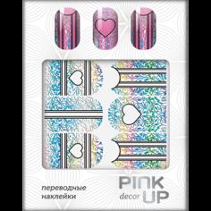 Наклейки для ногтей переводные `PINK UP` NAIL DESIGN тон 515