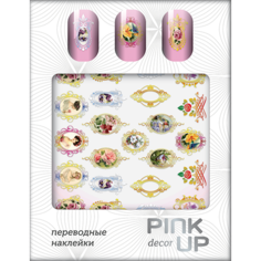 Наклейки для ногтей переводные `PINK UP` NAIL DESIGN тон 512