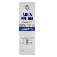 Ватная палочка для пилинга `A`PIEU` AQUA PEELING c AHA и BHA-кислотами и экстрактом алоэ (интенсивного действия) 3 мл Apieu