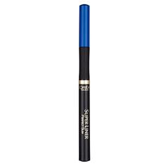 Подводка-фломастер для глаз `LOREAL` SUPER LINER PERFECT SLIM (синяя) LOreal