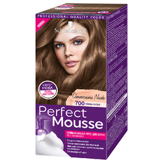 Краска-мусс для волос `PERFECT MOUSSE` тон 700 (темно-русый) 35 мл