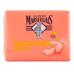 Мыло твердое `LE PETIT MARSEILLAIS` Белый персик и нектарин 90 г