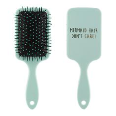 Расческа для волос `LADY PINK` FUNNY PRINT green