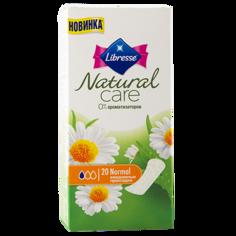 Прокладки ежедневные `LIBRESSE` NATURAL CARE Normal 20 шт