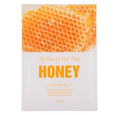 Маска для лица `A`PIEU` MY SKIN-FIT SHEET MASK с экстрактом меда (питательная) 25 г Apieu