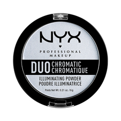 Хайлайтер для лица `NYX PROFESSIONAL MAKEUP` DUO CHROMATIC тон 01 twilight tint