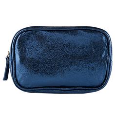 Косметичка прямоугольная LADY PINK FOIL  синяя
