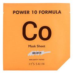 Маска для лица `IT`S SKIN` `POWER 10 FORMULA` CO с коллагеном (укрепляющая) 25 мл