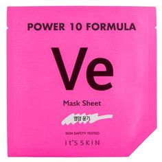 Маска для лица `IT`S SKIN` `POWER 10 FORMULA` VE с витамином E (питательная) 25 мл