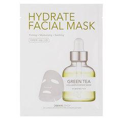 Маска для лица `DERMAL` HYDRATE с экстрактом зеленого чая и коллагеном 25 г